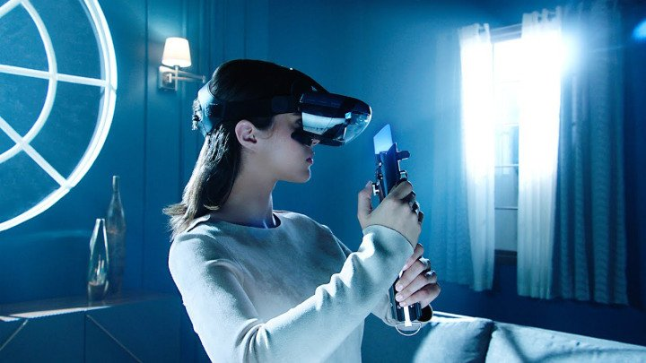 Disney Teases New Star Wars AR Headset With Lightsaber Fights and Holochess