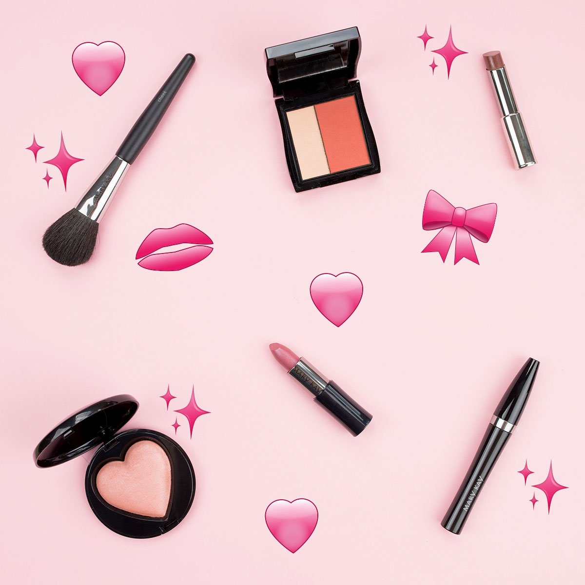 RT @MaryKay: Express yourself! Happy #WorldEmojiDay beauties; what pink emoji is your favorite?💄👛💋🌸💕🌷🎀💗 https://t.co/TIGzPGovoa