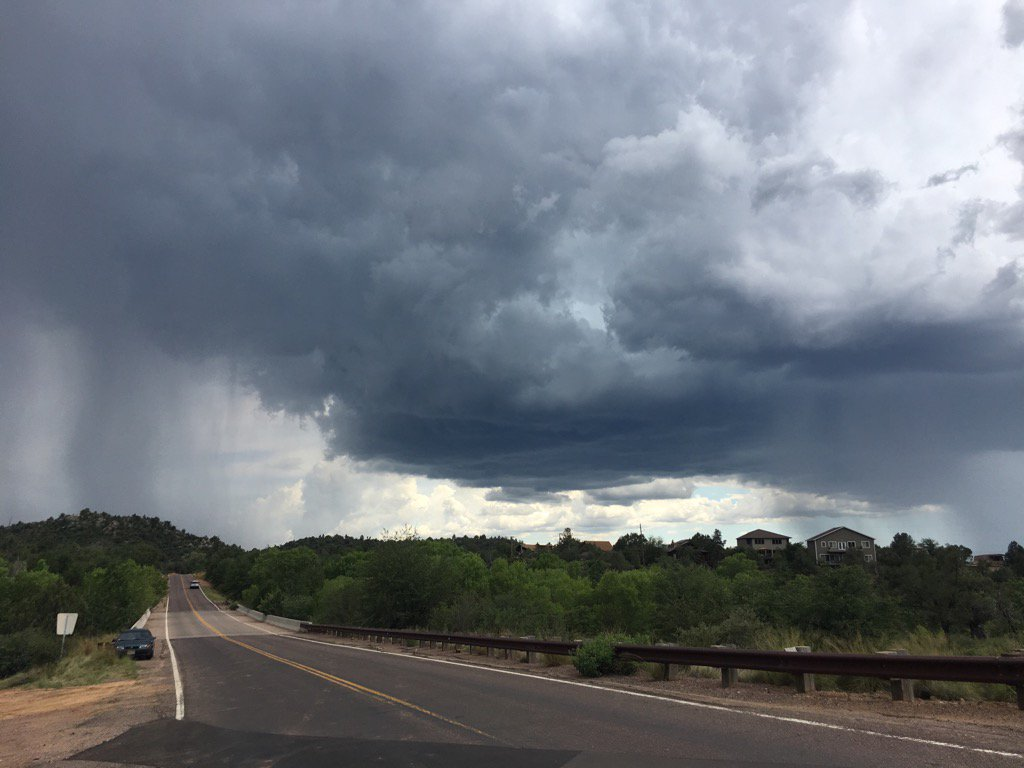 Monsoons are expected in the #Payson area all week. The search for the man missing in Sat's flood resumes early Tues. https://t.co/3ky8j5MZmp
