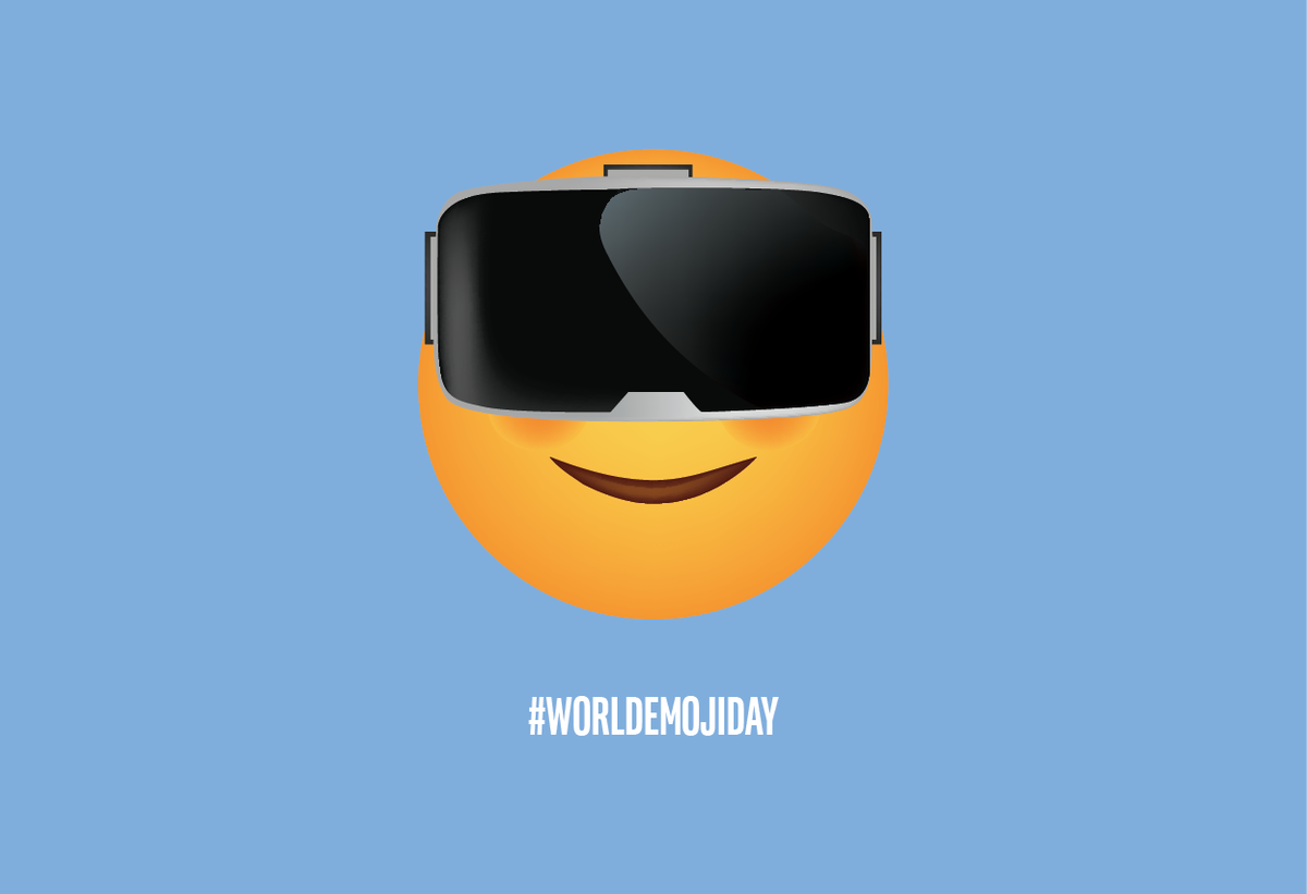 RT @intel: Happy #WorldEmojiDay. What do you think of our suggestion for a new #VR emoji? https://t.co/v99D4yoDHt
