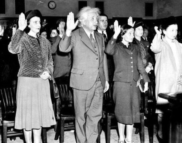 Albert Einstein was a refugee.