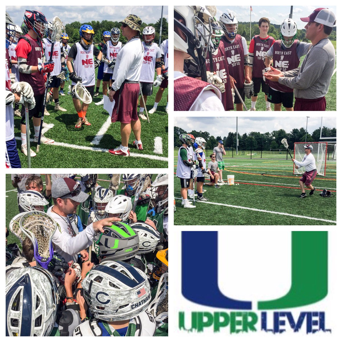 Great first day at the Northeast Top 50! Thank you @ColgateLacrosse staff for running the camp for the over 100 players to show up! #UL <br>http://pic.twitter.com/oOG02hhglw
