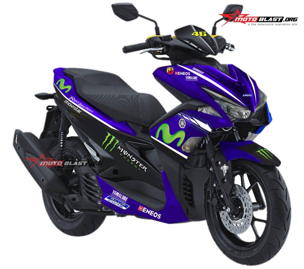 Yamaha X Ride Special Edition Motogp