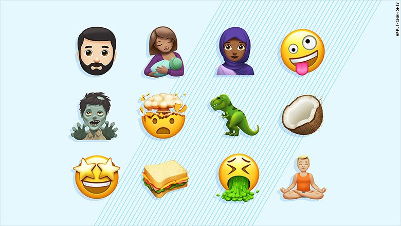 Apple unveils new emoji, including breastfeeding mom, just in time for #WorldEmojiDay https://t.co/9hU7Luoi0v