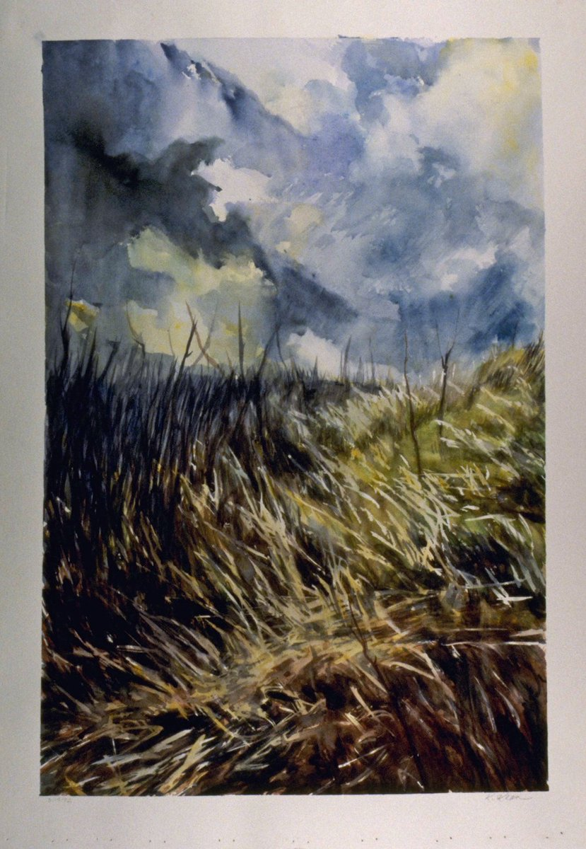 Into the Field #watercolor #landscape #painting #art #interiordecor<br>http://pic.twitter.com/AJXFBuPxgF