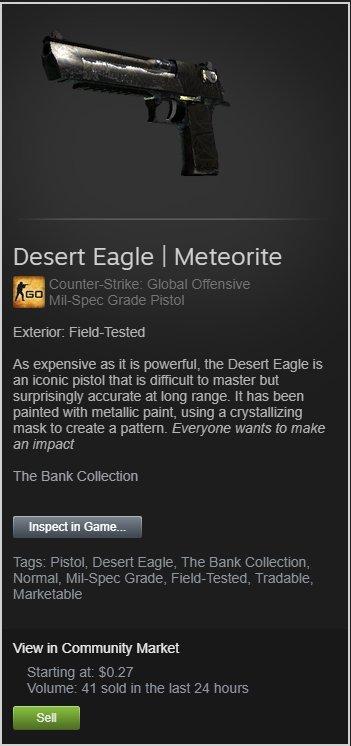 Dylan On Twitter Desert Eagle Meteorite Ft Giveaway Rules