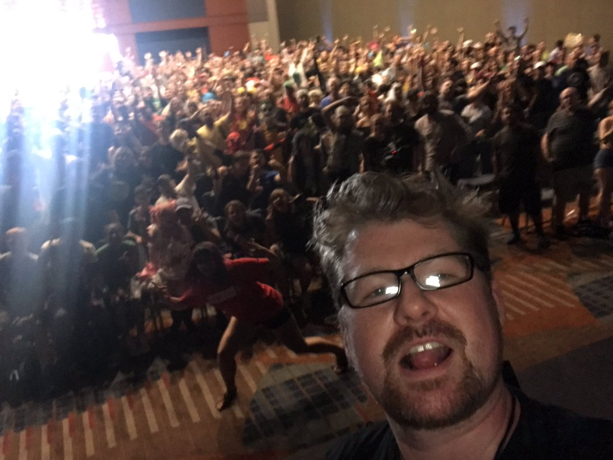 Love all the fans at @RaleighSupercon you guys kick ass!!!