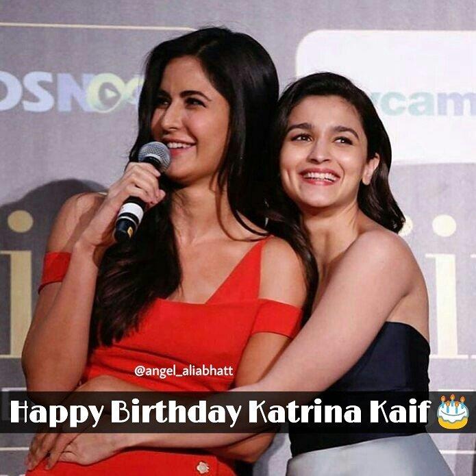 Happy Birthday to Katrina Kaif  @aliaa08 @KatrinaKaifFB  #AliaBhatt #KatrinaKaif #HappyBirthdayKatrinaKaif #angel_aliabhatt #FolloMe<br>http://pic.twitter.com/0nnedZoU8v