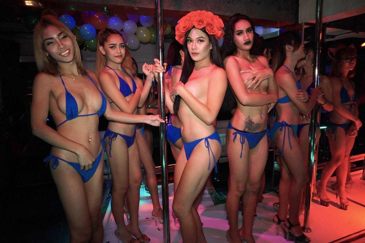 ladyboy bars Pattaya