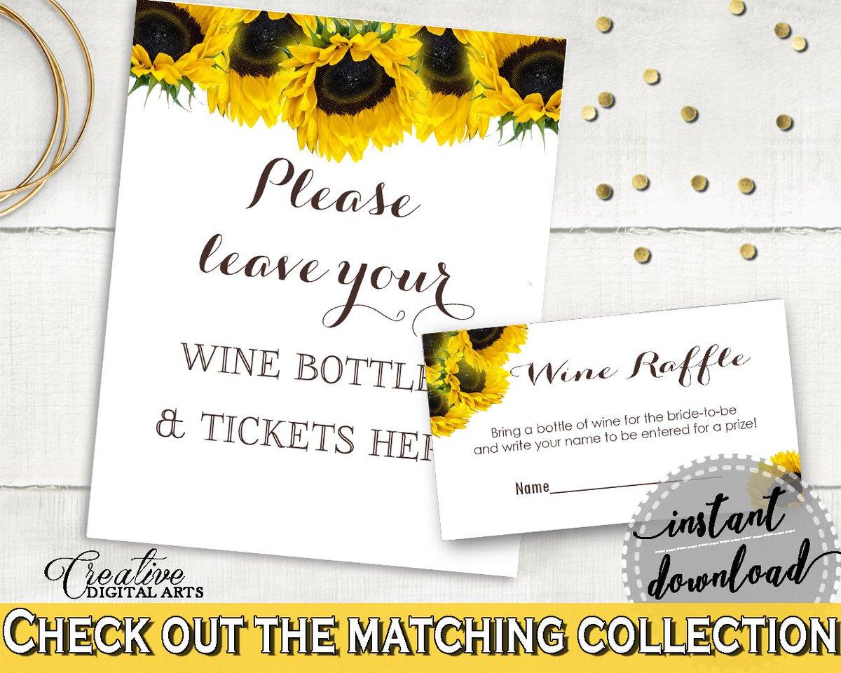 Bridal Shower Wine Raffle in Sunflower theme:  https://www. etsy.com/listing/510090 188 &nbsp; …  #bridalshower #bridalparty<br>http://pic.twitter.com/QzaNh6mUtJ