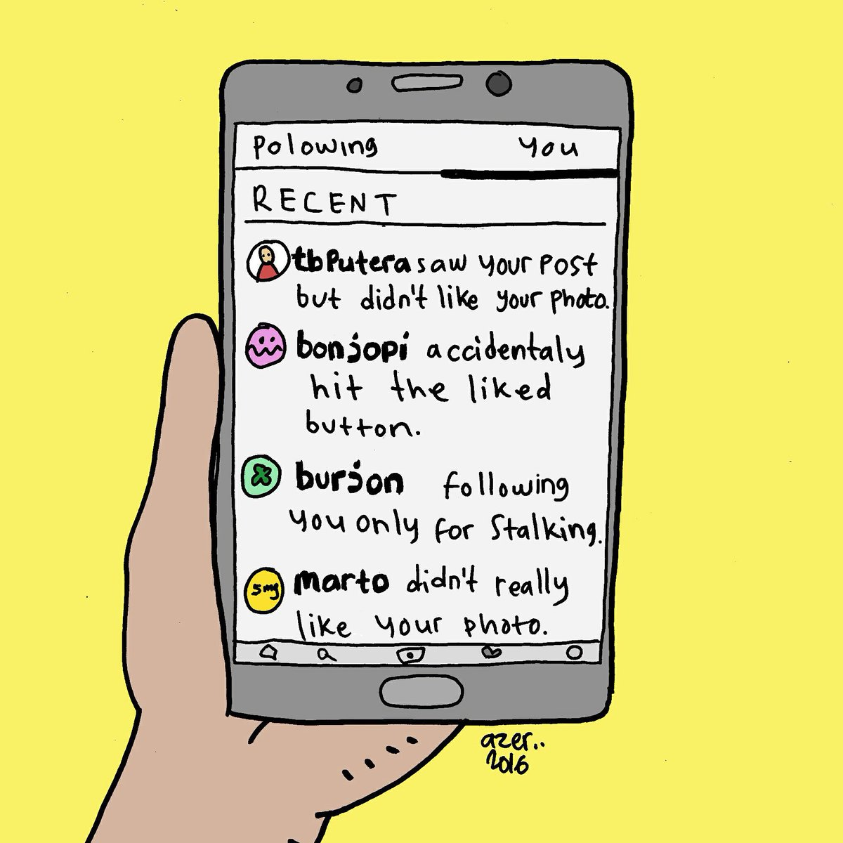 Honest notifications (pic by @komikazer ) https://t.co/AHfoL861bf