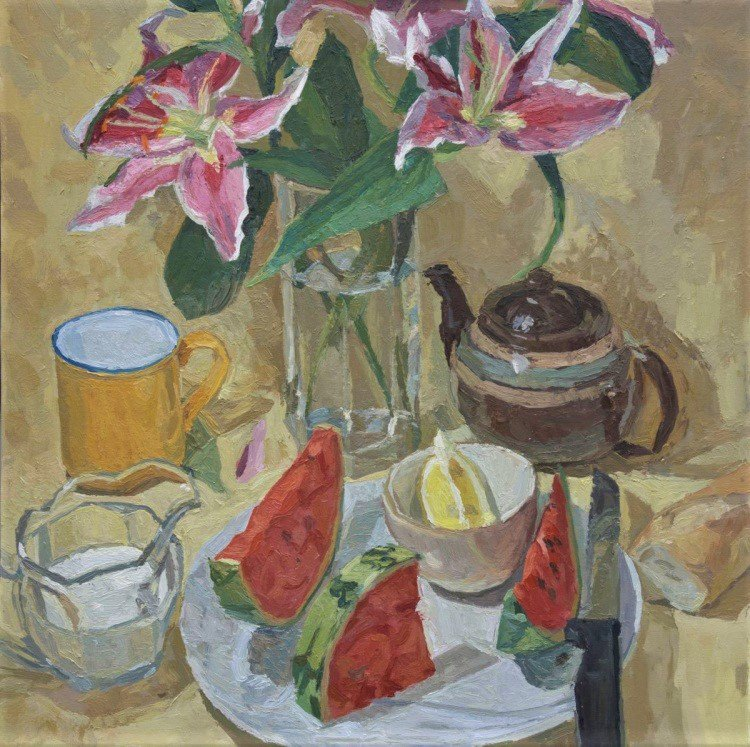RT @ContemporarySix  @Adam_Ralston uses the genre of #StillLife to experiment in tone and form #stilllife #peinture  <br>http://pic.twitter.com/70254FNJXF