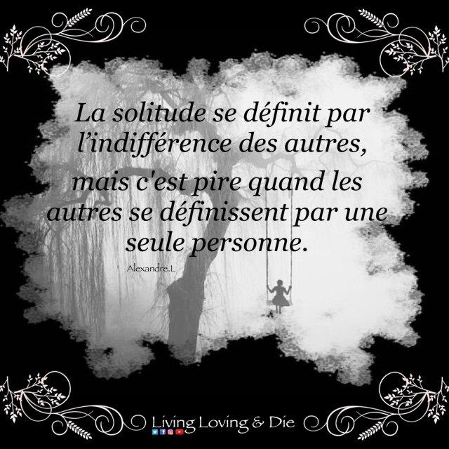 Living Loving Die On Twitter Solitude Amourperdu