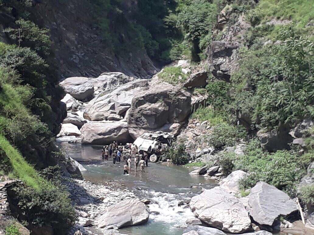 16 Amarnath pilgrims die as bus falls into gorge in J&K's Ramban district