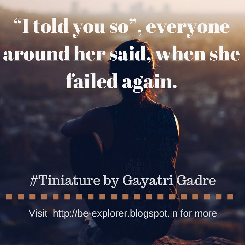 #Tiniature. To participate- 1.RT 2.reply with ur #TinyStory 3.use #Tiniature #tinystories #microstories #tinytales #amwriting #BeingAuthor https://t.co/z8r8tzdCA0