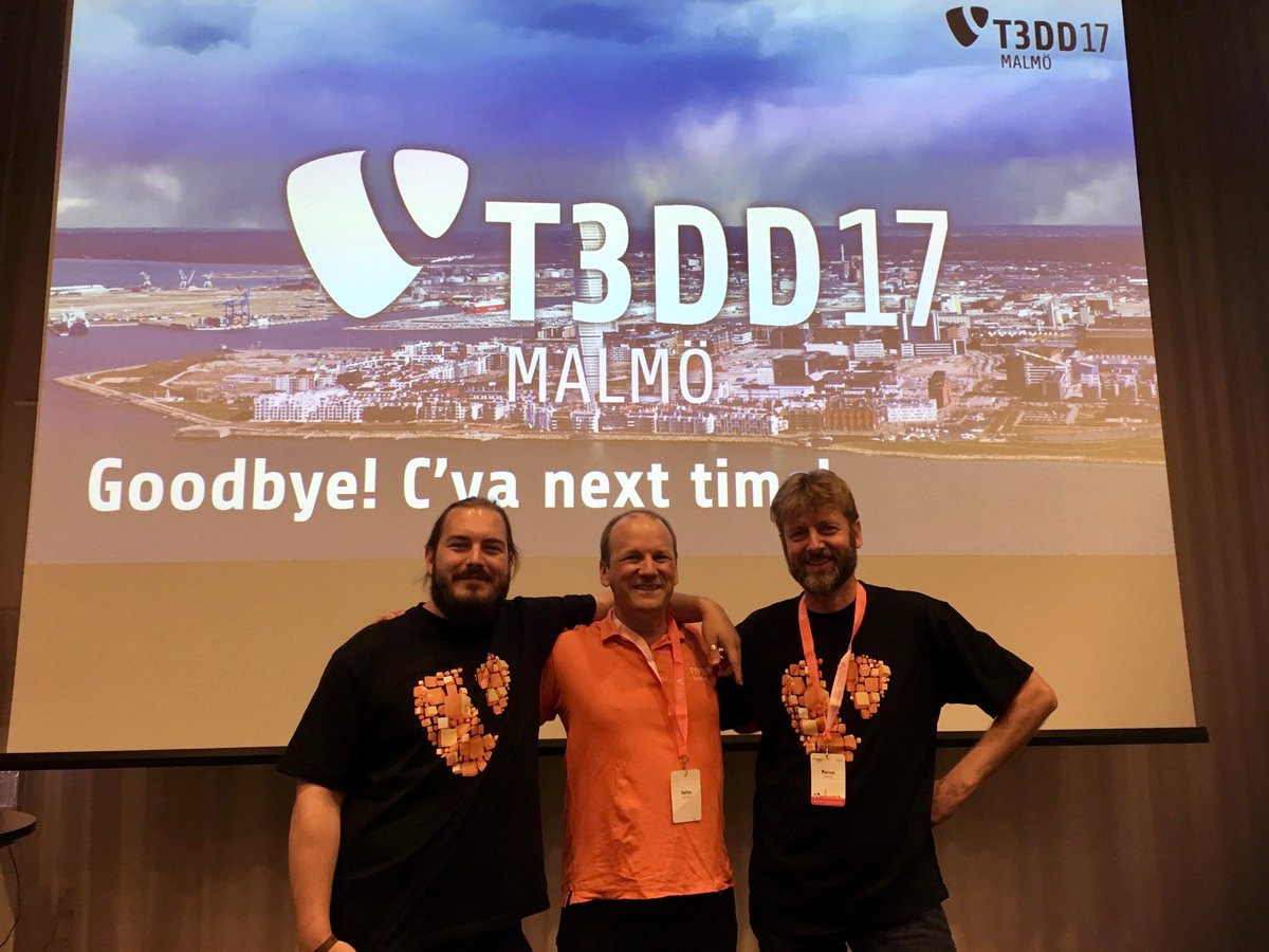 in2code at the TYPO3 Developer Days in Malmö #T3DD17 - great event https://t.co/S3uOqKDNXf