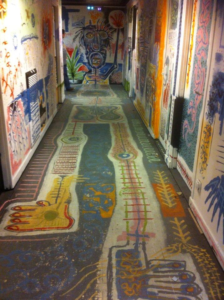 #Rehab2 Cité U Maison des Arts et Métiers + + + L'ivresse de l'invasion #StreetArt sur 6 étages https://t.co/wAcPBozQOt