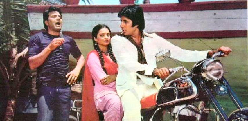 Image result for Amitabh Bachchan, Rekha Ram Balram