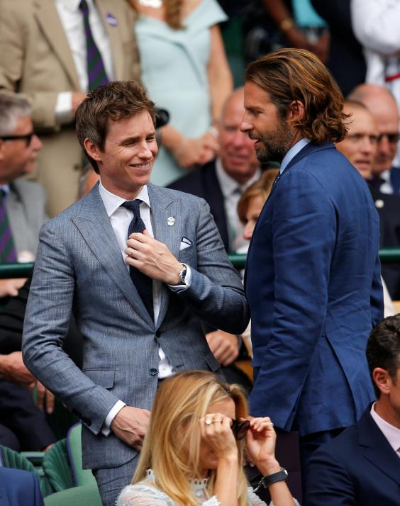 William and Kate, Eddie Redmayne and Hugh Grant at Centre Court https://t.co/mkoZUnN6S0