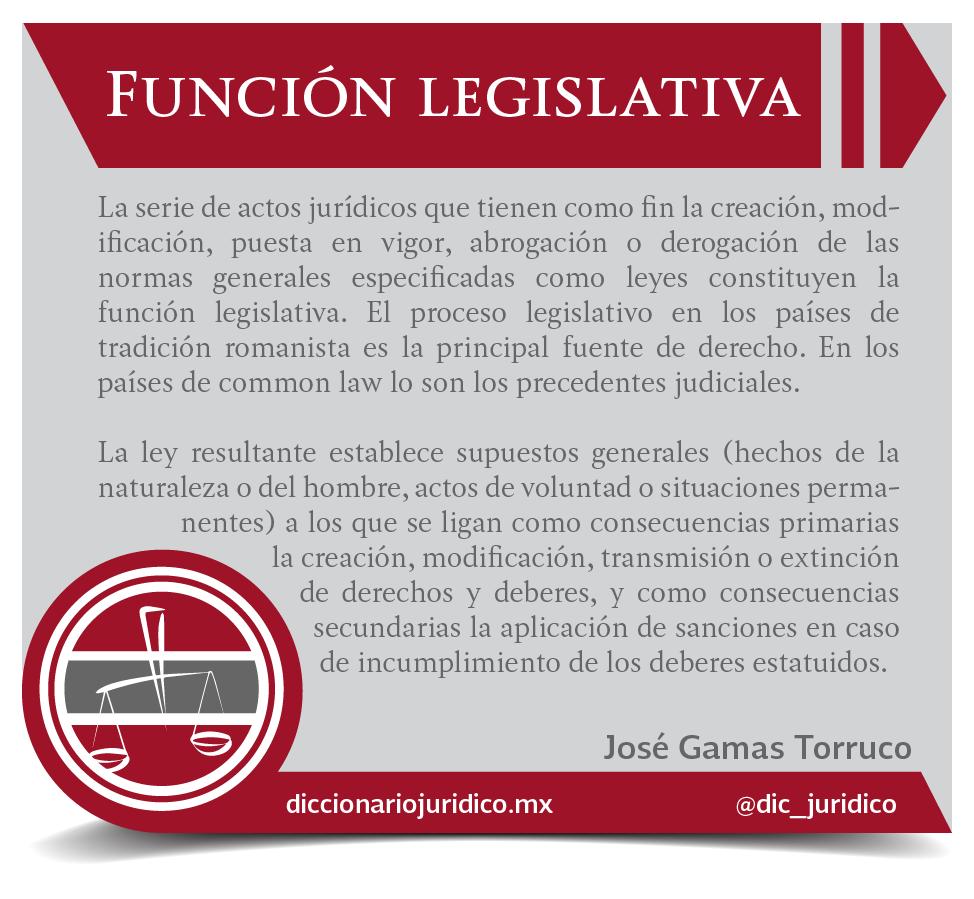 definici nde funci n legislativa de jos gamas torruco en el libro derecho constitucional mexicano publicado por juridicaporruapic twitter com iv6bcuuqas