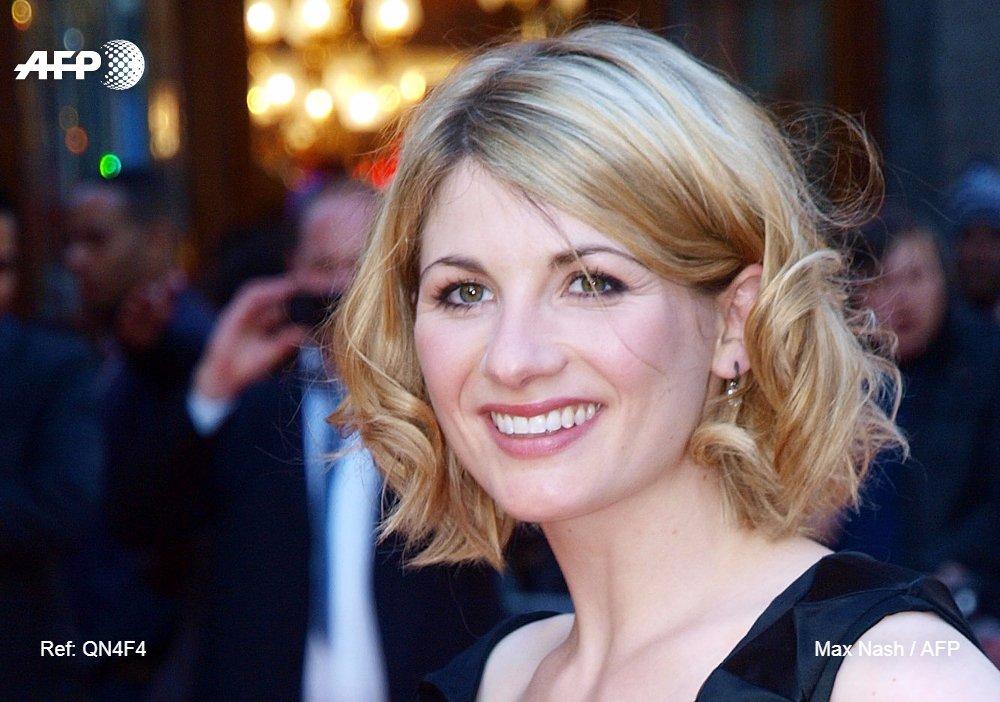 L'actrice Joddie Whittaker, 1re femme à interpréter le personnage principal de la série culte 'Doctor Who' https://t.co/z0yAy1OC8b #AFP