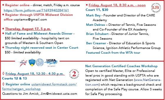 Media Tweets by USPTA Midwest Div. (@MW_USPTA) | Twitter