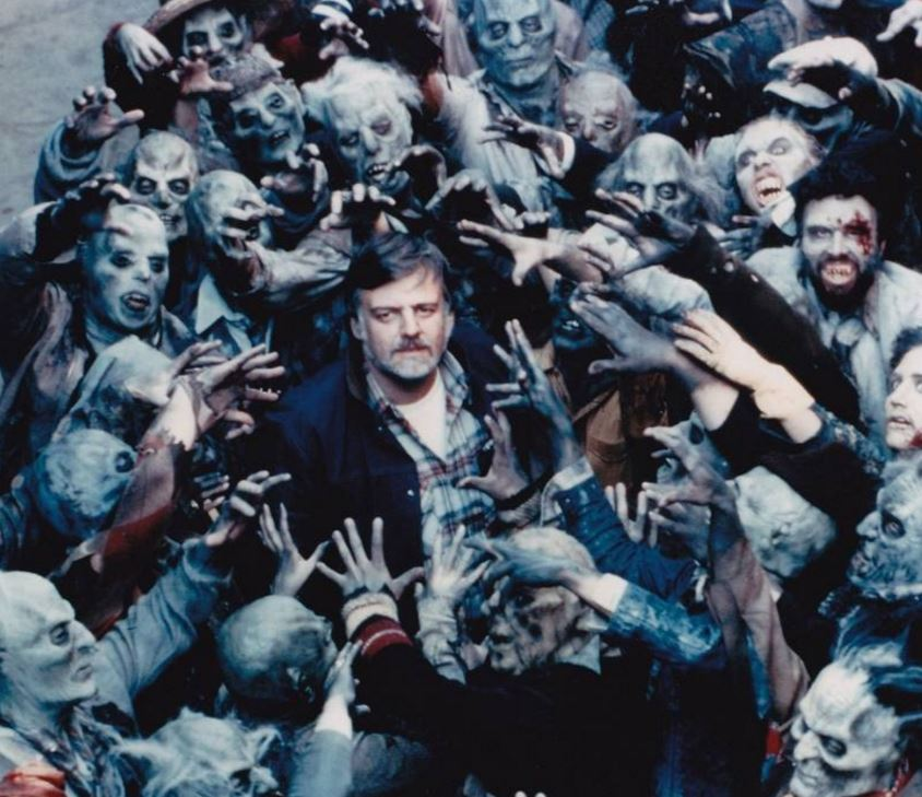 RT @cinemathequefr Adieu George A. Romero, Knight of the Living Dead…
