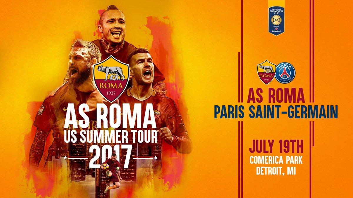 ROMA-PSG Streaming Video: dove vederla in Diretta Gratis. Amichevole ICC di Oggi 19 luglio 2017