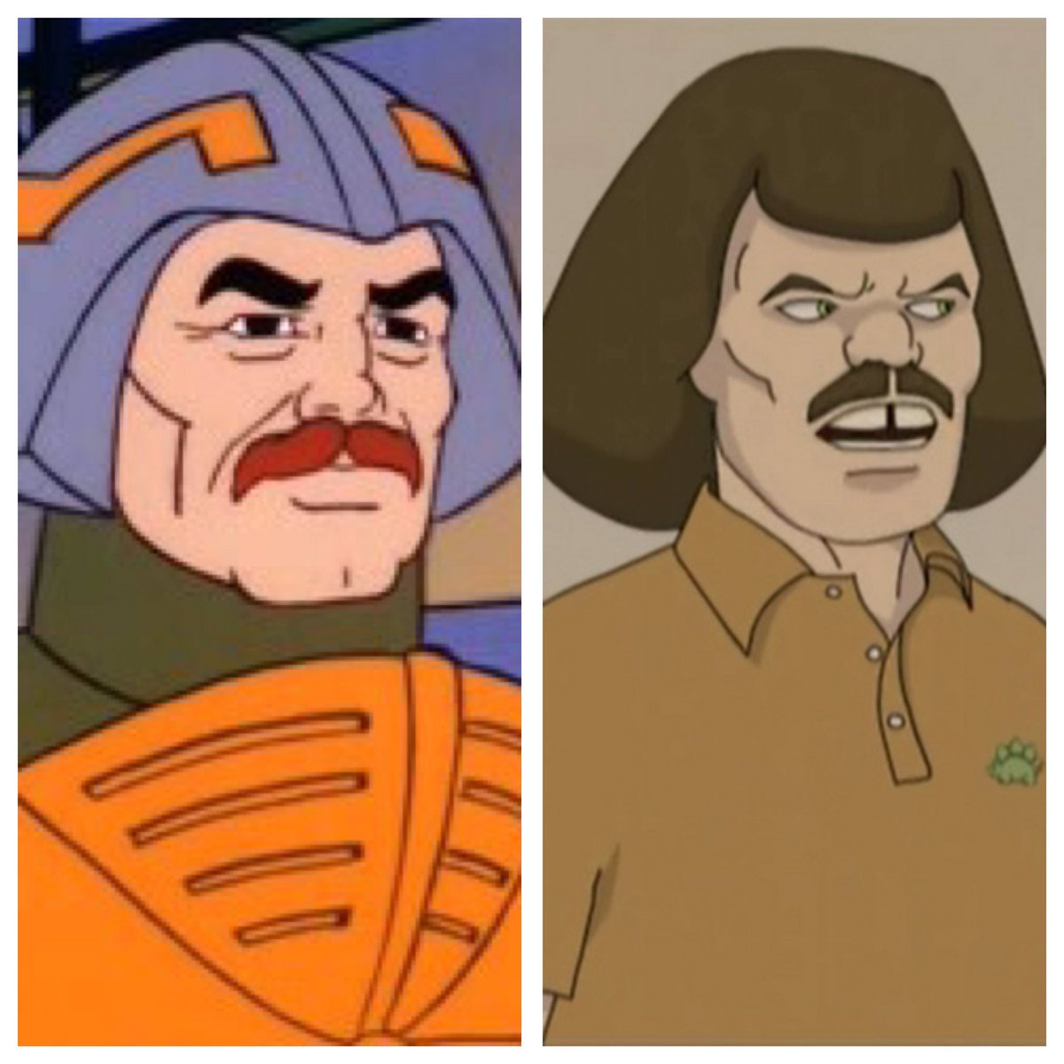 Man-At-Ams quit following He-Man to follow his dreams of becoming Murderface, bassist for Dethklok. #InstantFanTheory #He-Man #metalocalypse<br>http://pic.twitter.com/JvnfJS7nj5