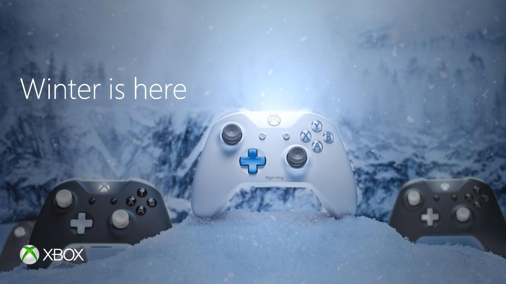 The wait is finally over. #WinterIsHere #GameOfThrones #XboxDesignLab