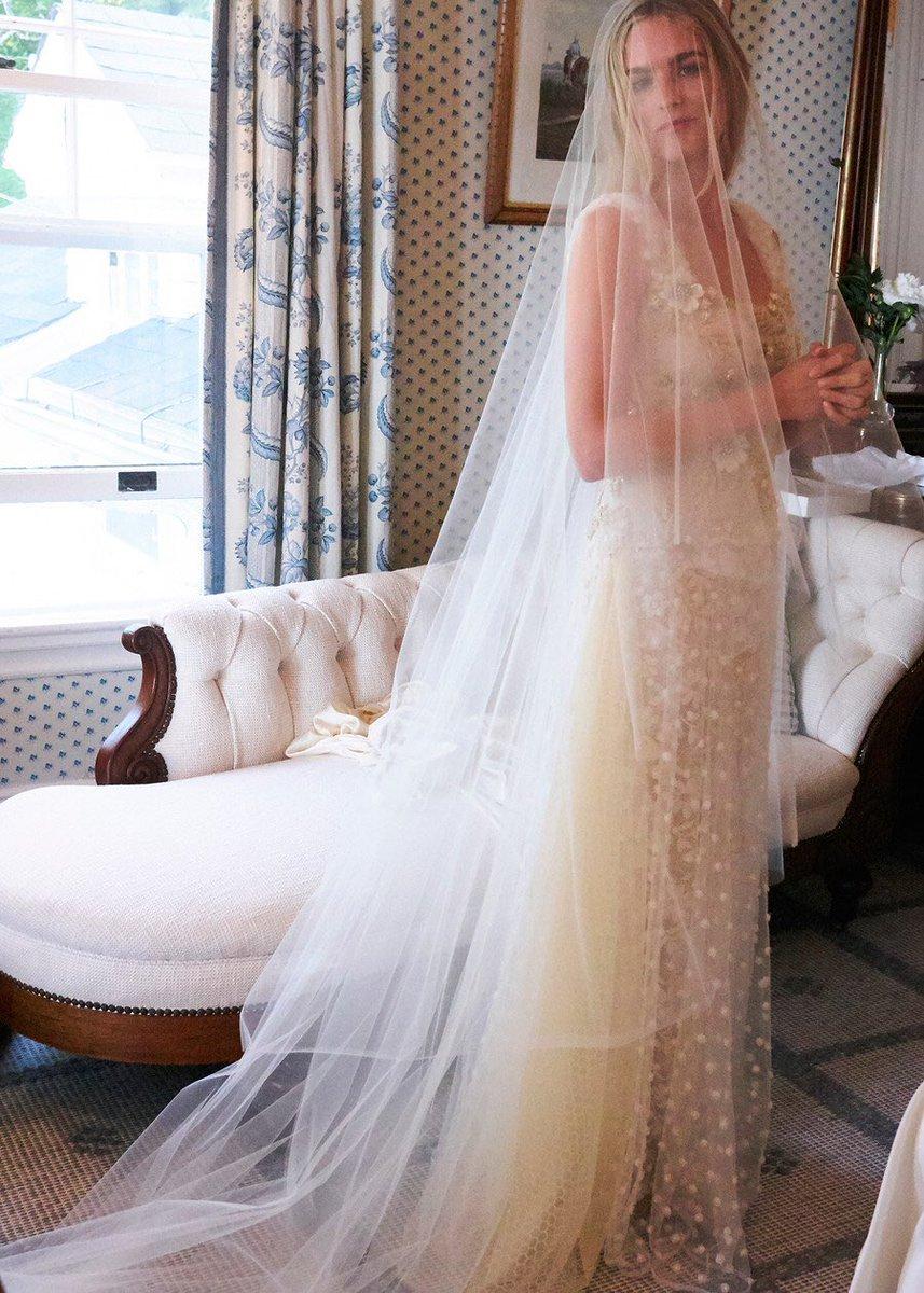 Rodarte On Twitter Love Nathalie In Her Custom Wedding Gown Ph Pamela Hanson For Voguemagazine