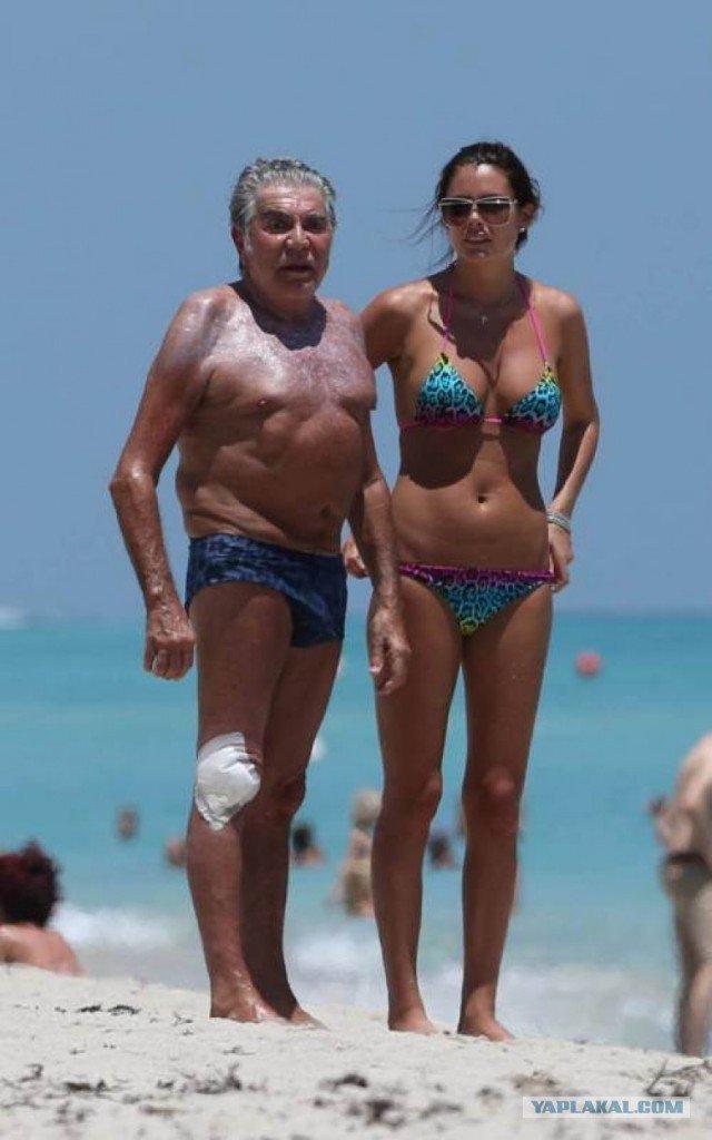 Дедушка и молодая любовница