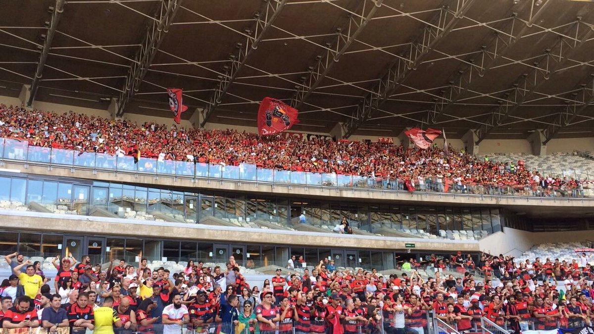 A Maior Torcida do Mundo marca presença no Mineirão! #CRUxFLA