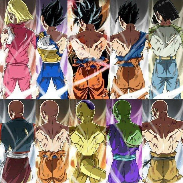 "Dragon Ball Manga Tournament Of Power: Dragon Ball Super On Twitter: ""Team U7 Limit Break"