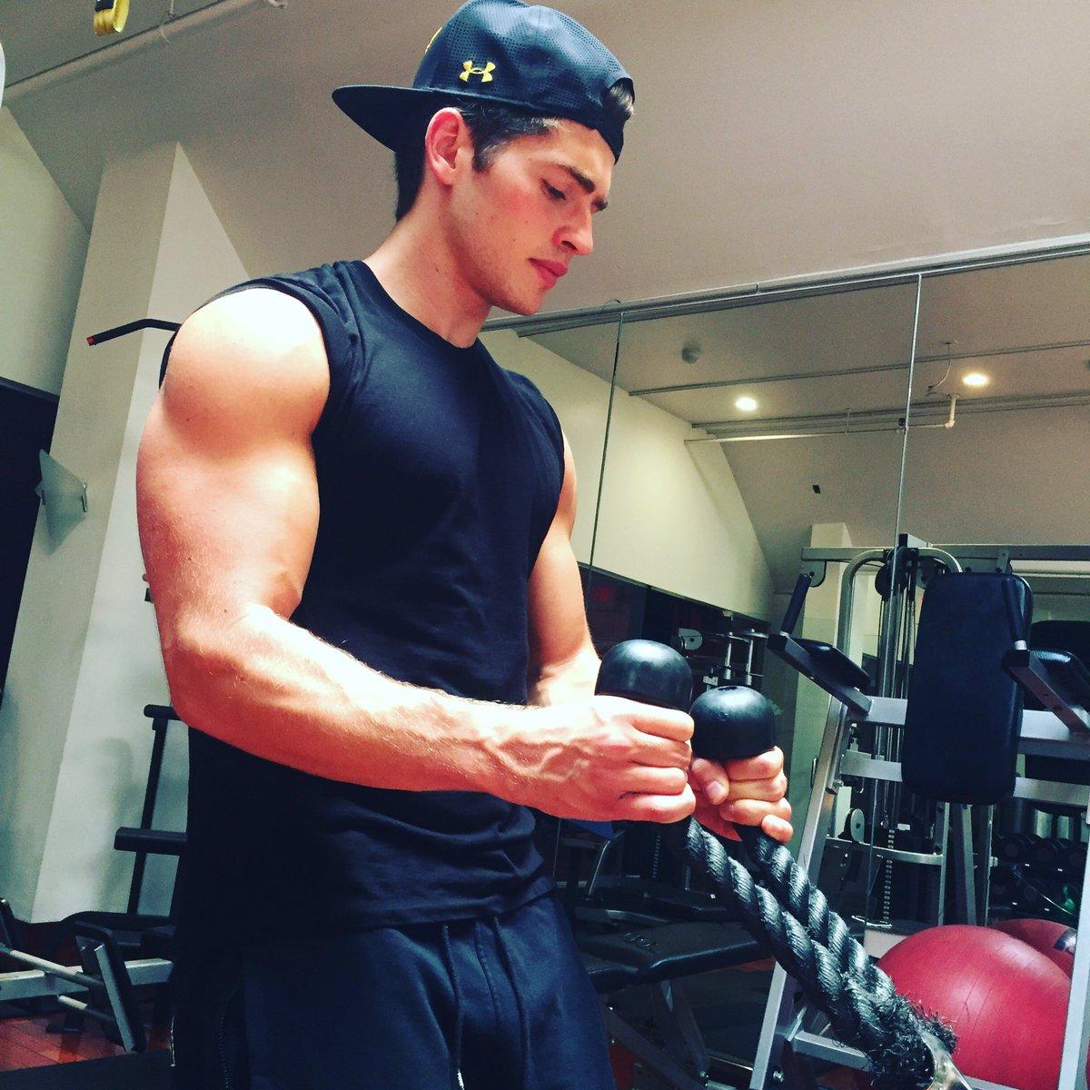 Gregg sulkin muscles