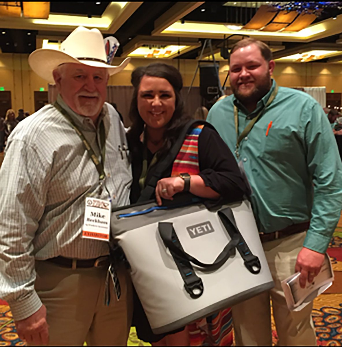 Congrats to our Yeti cooler giveaway winners Ashley and Kevin Stice from Ranger, Texas! #WildLife <br>http://pic.twitter.com/HEQJNVpgQ6