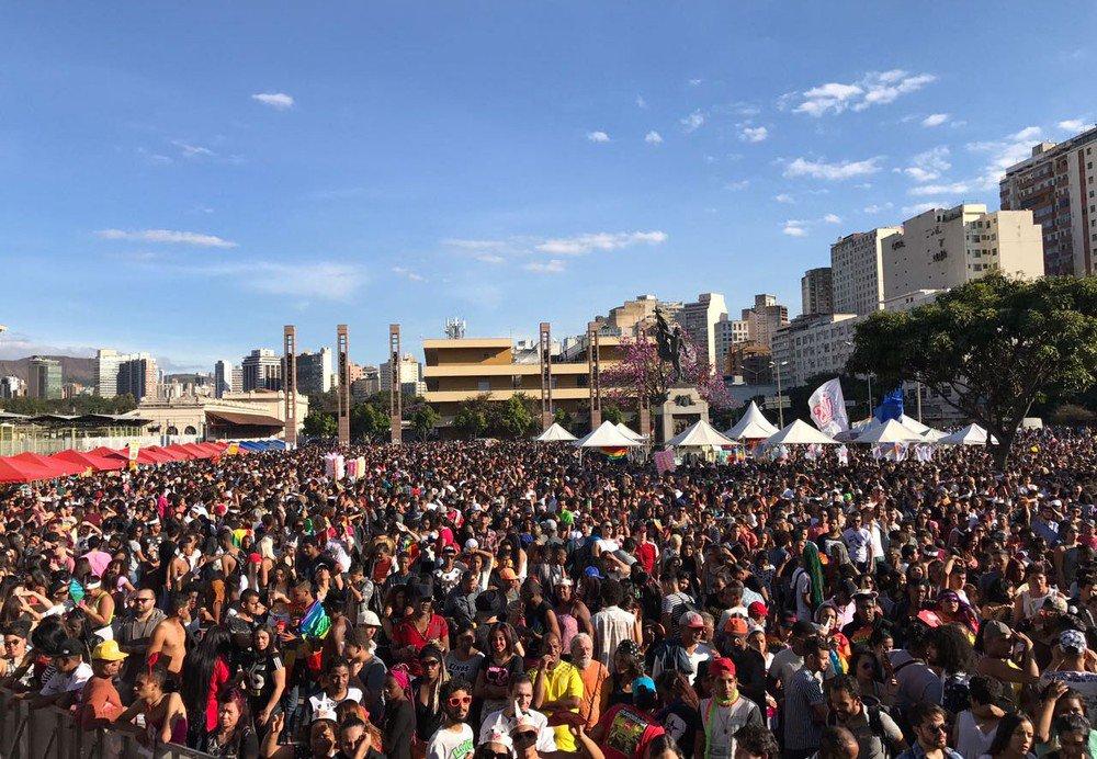 Mais de 80 mil pessoas participam da Parada do Orgulho LGBT em BH https://t.co/OnEHYZp3zs