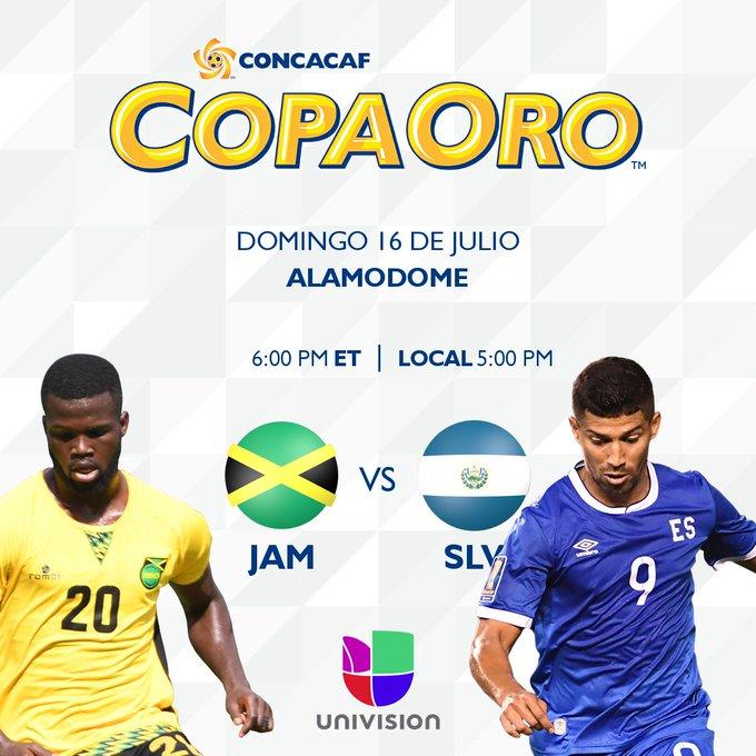 Copa Oro 2017: El Salvador vs Jamaica. Preparacion del juego. DE4hmV7XoAABRCj