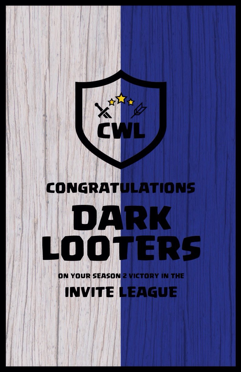 Invite Champion: Dark Looters