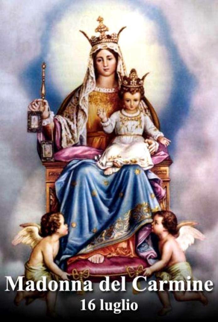 Frases De Santos On Twitter Día De La Virgen Del Carmen