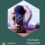 #YOCISO's wellness series. POWER HOUR every Tuesday during the summer. Join us today 3:30, 1800 Bank street #Ottawa #youth #cdnimm