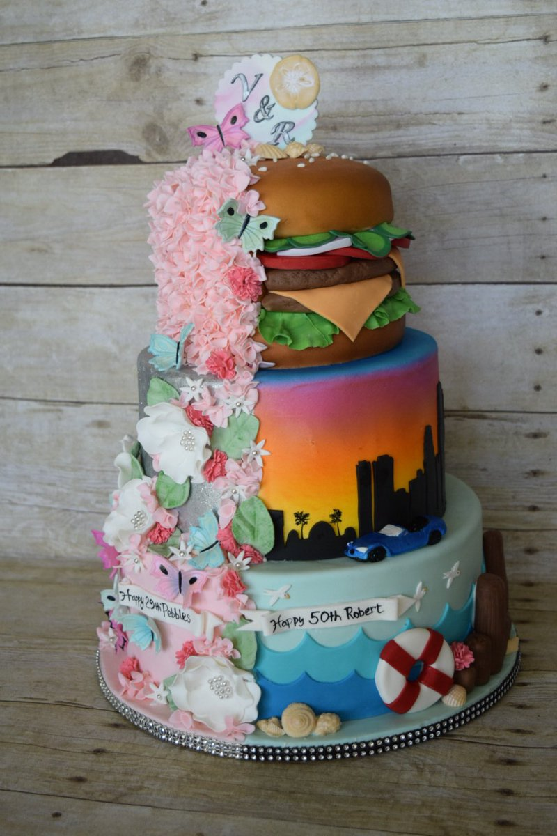 Incredible Donna Belle Desserts On Twitter Cake Hamburger Birthdaycake Funny Birthday Cards Online Inifodamsfinfo