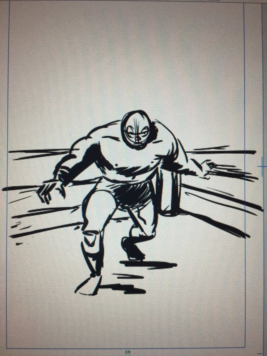Just so y&#39;all know-At some point in my life I&#39;m making a #LuchaLibre comic and I&#39;m going to draw it loose and brushy and smile all the while <br>http://pic.twitter.com/VSNBuNB2fe
