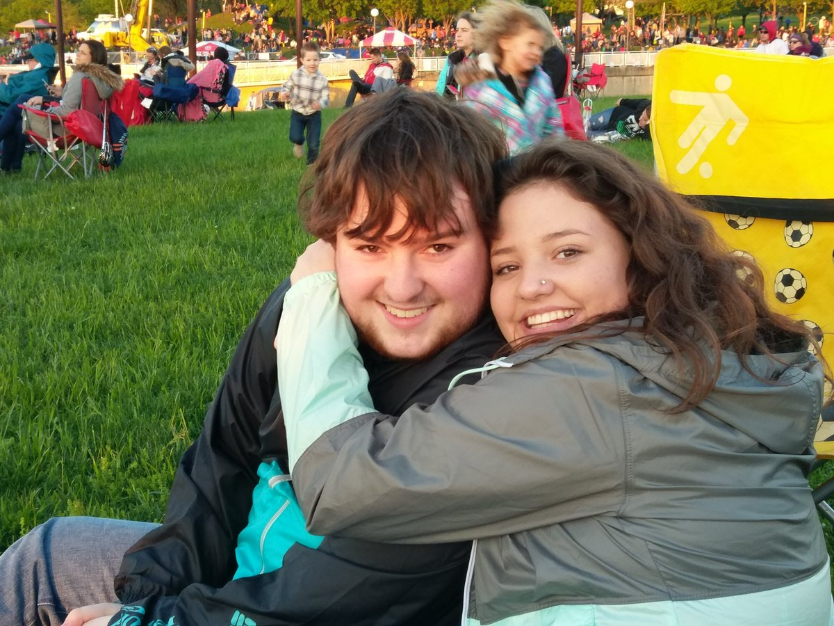 Jaime and Brandon. #thundercommand #ThunderOverLouisville https://t.co...
