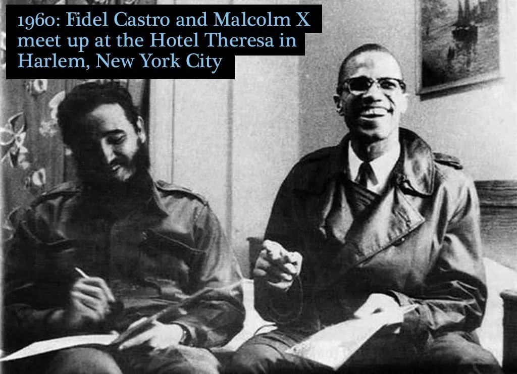 #Fidel #Castro and #Malcolm #X though his-&gt; (malcolm) own kind took him out    #GottaDispelHatred #AcceptSomeUnification #LostHistory <br>http://pic.twitter.com/dXcdGLUI2X