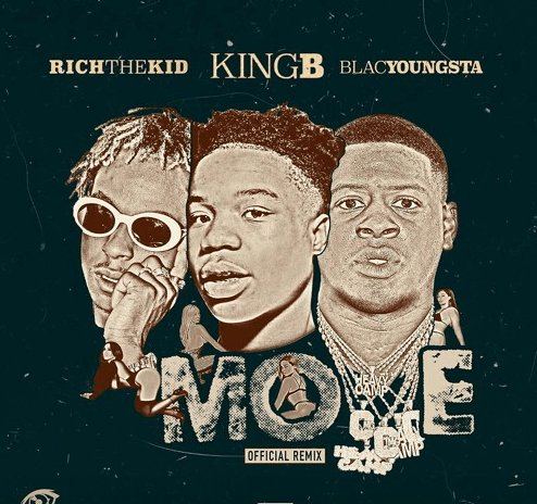 (Audio) King B feat. @richthekid & @BlacYoungstaFB – Move Remix @kingb_314 http://otsny.co/2tYOc7y pic.twitter.com/f95XcI6GmG