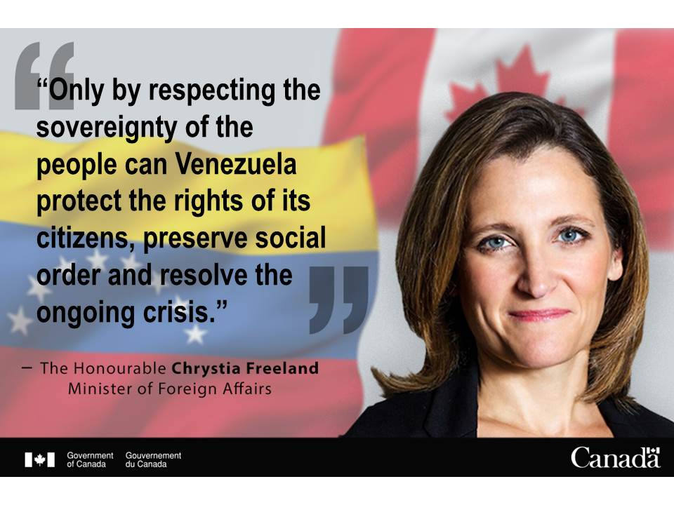 Canada stands with people of Venezuela following popular consultation https://t.co/1pxKHZvR9P