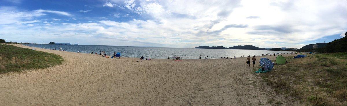 いや、海の日やけ海きたわけやないけーね??  #虹ケ浜 https://t.co/ERcNf1qxdh