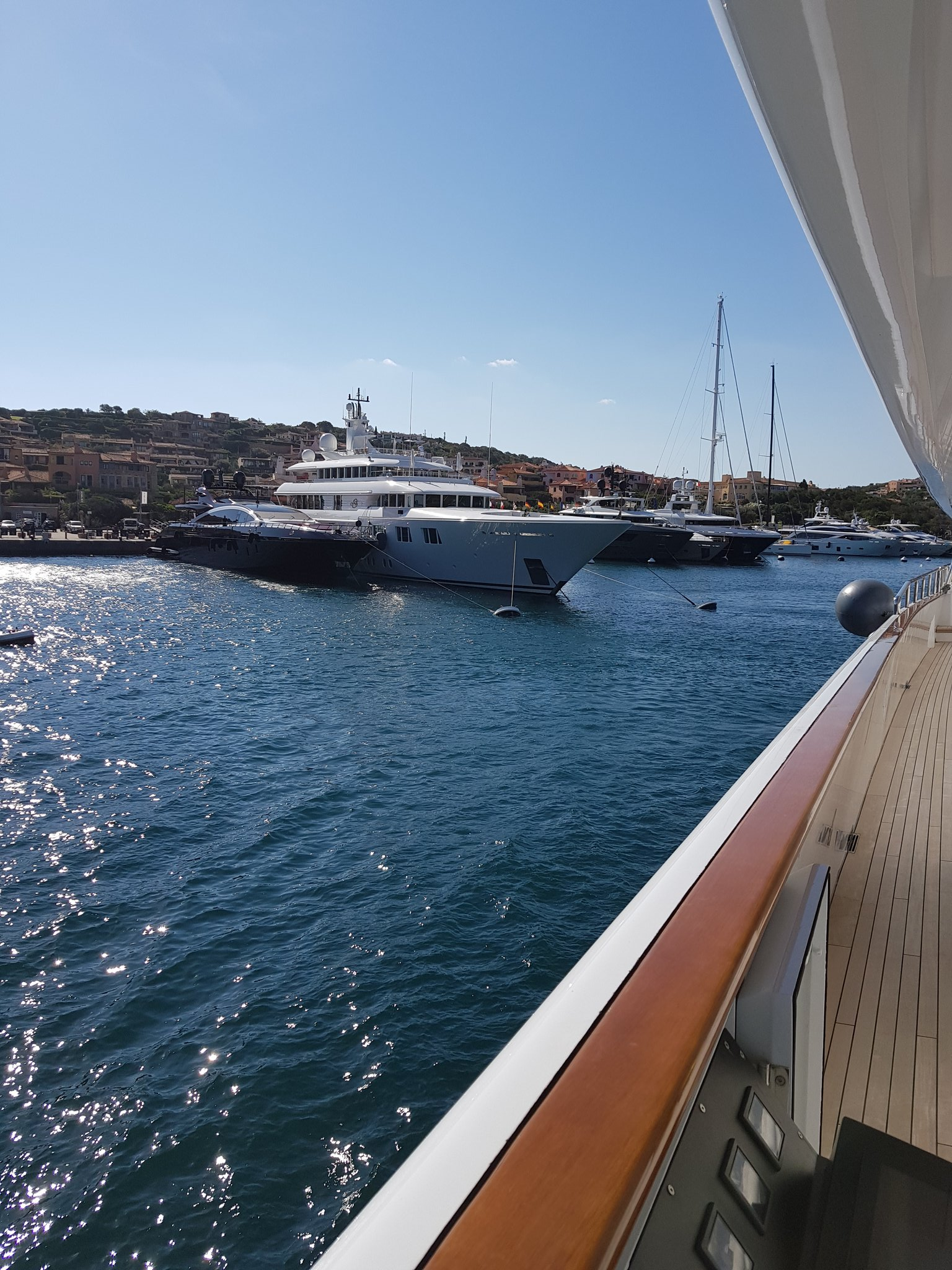 Leaving Porto Cervo Sardinia to enter French waters of Corsica https://t.co/bxz2xobnC7