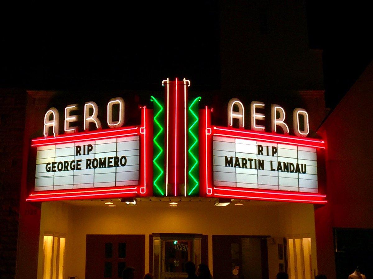 We mourn the passing of two cinema greats, #GeorgeRomero & #MartinLandau.